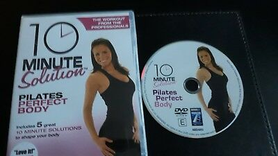 10 Minute Solution Pilates Perfect Body Keep Fit / Workout Dvd (Uk's No 1)