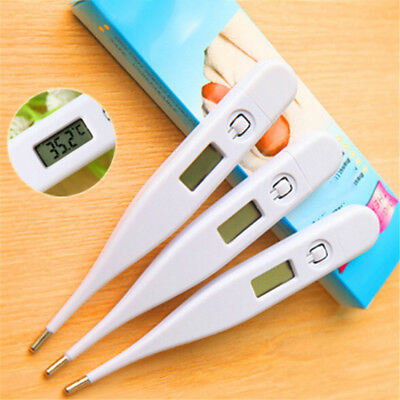 New Digital LCD Body Thermometer Measure Temperature For Child & Adult Home Use