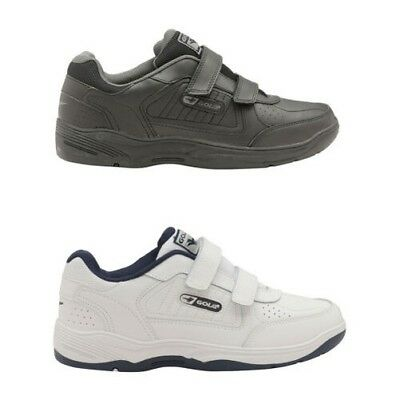 82faa1d7e79e5 Gola Active Belmont Infants Smooth Faux Leather Trainers Kids Hook & Loop  Shoes