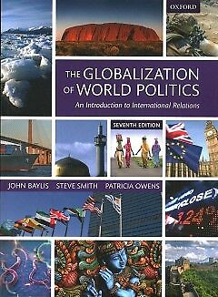 Globalization of World Politics - An Introducti...-NEW-9780198739852 by Baylis,