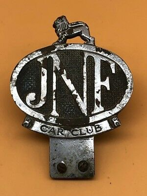 Vintage JNF (Jewish National Fund) Car Badge