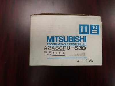 Mitsubishi A2ASCPU-S30 PLC CPU Module - New in Box