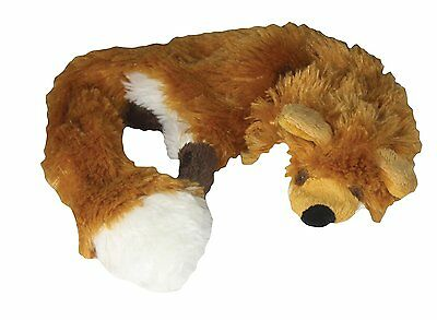 "Good Boy 54cm/21"" UNSTUFFED Soft Plush RAGGY FOX Dog Puppy Comfort Toy 2 Squeaks"