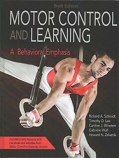 Motor Control and Learning 6th Edition With Web...-NEW-9781492547754 by Schmidt,