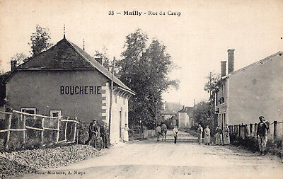 MAILLY LE CAMP Rue du Camp Villageois Commerce Bourcherie