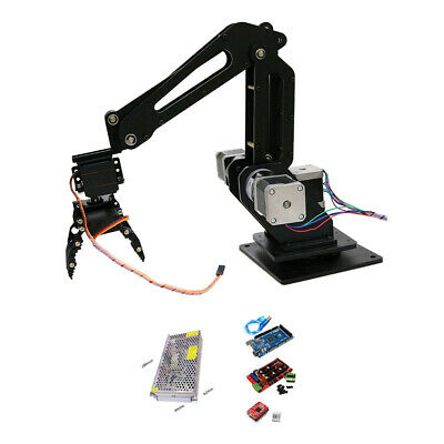 Writing Engraving S3 3DOF Mechanical Robot Arm Claw with Servos for Robot