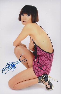 Bai Ling Signed 12x8 Photo With Proof AFTAL