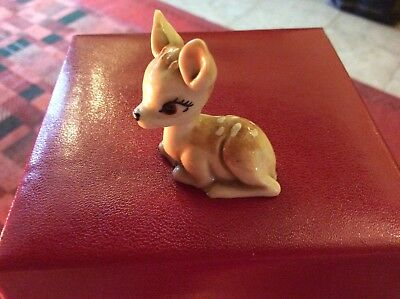 VINTAGE WADE WHIMSIES Walt Disney BAMBI - Excellent Condition.