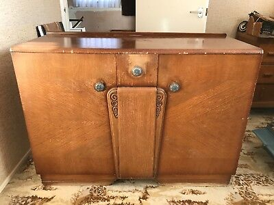 Art Deco Style Sideboard From 1940/50's