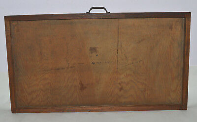 Vintage Printer's Type Tray/Drawer Shadow Box empty case no dividers 15/16 size