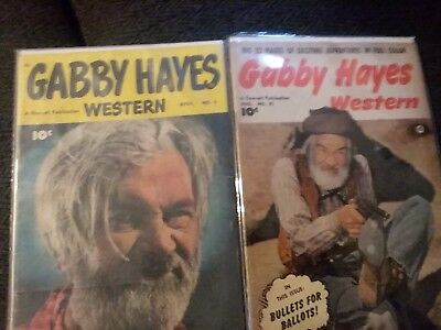 gabby hayes comics 1949 and 1950