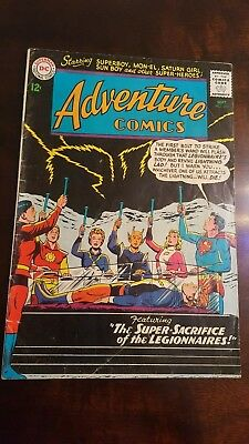 ADVENTURE COMICS Lot of 4 DC Books - #312, 315, 318, 337 - Superboy and Legion
