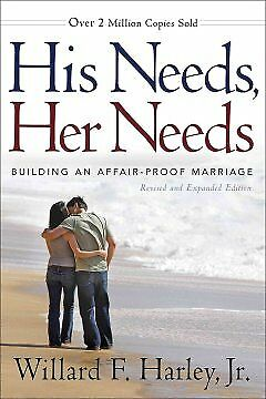 His Needs, Her Needs - NEW - 9780800719388 by Harley, Willard F., Jr.