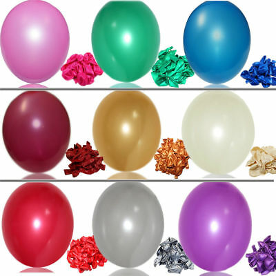 Latex Balloons - 25 COLOUR in 4 PACK SIZE -Birthday Wedding Party Decoration- UK
