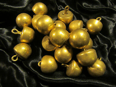 """Lot 20 Vintage Brass Military Buttons Made By """"Waterbury  Co."""" Civil War?"""