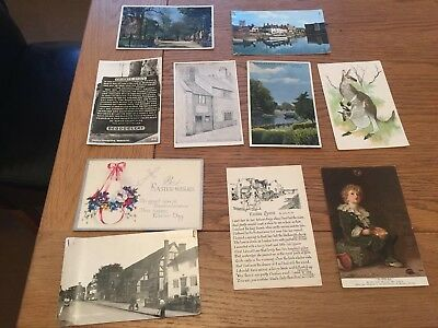 Job Lot Of Old Post Cards