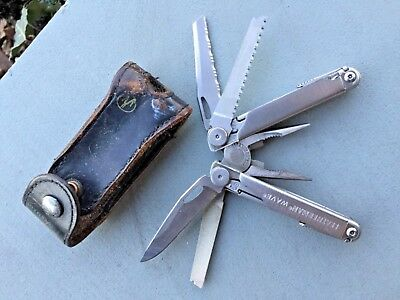 Leatherman wave w/sheath used