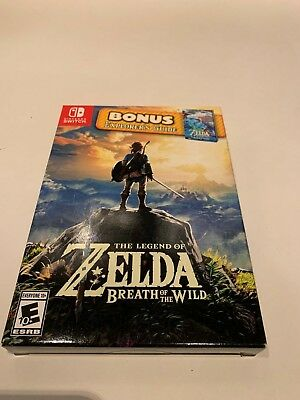 Legend of Zelda Breath of the Wild Starter Pack Explorer's Guide Nintendo Switch