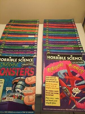 Full And Complete Collection Of horrible science magazines 1-80. Mint Condition.