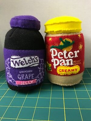 Felt Art-Peter Pan Peanutbutter & Welch's Jelly-Inspired by Work of Lucy Sparrow