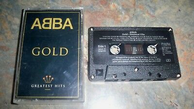 Abba Gold Greatest Hits      Vintage Audio Tape Cassette