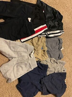 Boys 9 Piece Lot Mixed Brand  Shorts Nike, Jumping bean,Gap, Carters Size 3T