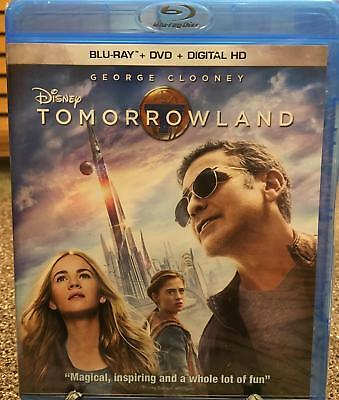 "Disney ""Tomorrowland""  Blu-Ray DVD / Digital HD  Brand New Unopened"