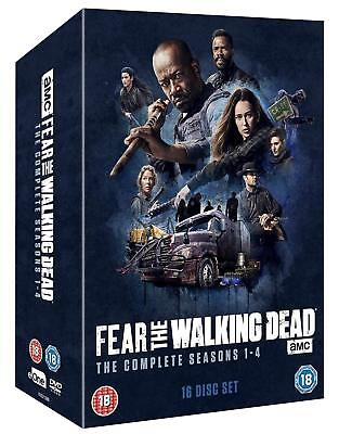 Fear The Walking Dead 1-4 Complete DVD Box Set Series Season Brand New Sealed UK