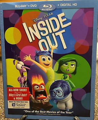 "Disney Pixar ""Inside Out""  Blu-Ray DVD / Digital HD  Brand New Unopened"