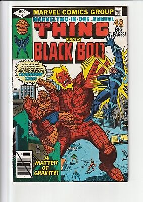 Marvel Two-In-One Annual #4 The Thing And Black Bolt