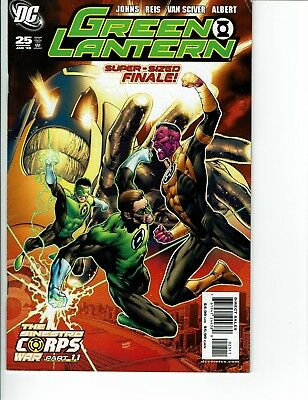 Green Lantern #25 2008 1st Appearance Larfleeze and Atrocitus Geoff Johns