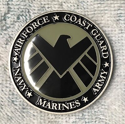 Marvels Avengers Military Coin. All Military Branches.
