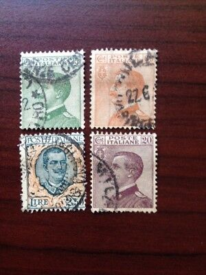 Italy 1925-27 Used Stamps
