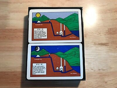 PG&E Pacific Gas and Electric Playing Cards Hydro