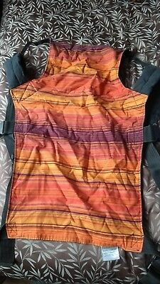 Orange Striped Standard Size Connecta Baby Carrier Sling