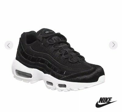 official photos c9607 acbfb Nike Air Max 95 Lux Black Pony Fur UK5 - IMMACULATE CONDITION - SOLD OUT!