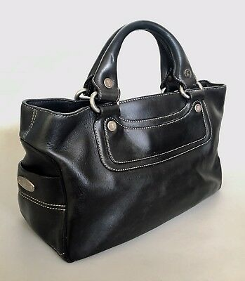 HERMES HAUT A courroies 36 hand tote bag Togo leather Gold Brown ... 305bc6a7e1a
