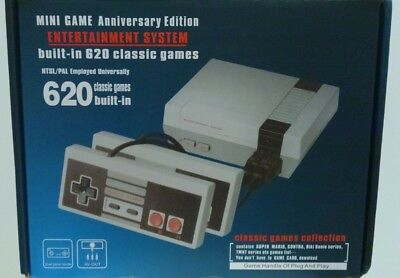 Mini Game Anniversary Edition Entertainment System built-in 620 classic games