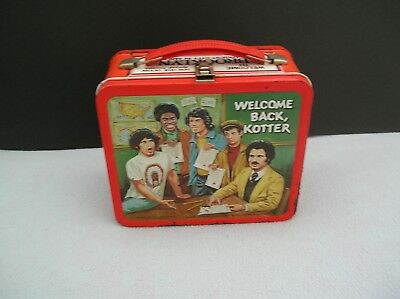 1977 Aladdin Welcome Back Kotter Metal Lunch Box