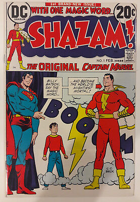 Shazam #1  High grade NM  (1st Bronze age Captain Marvel)  CGC it! - Hot - Movie