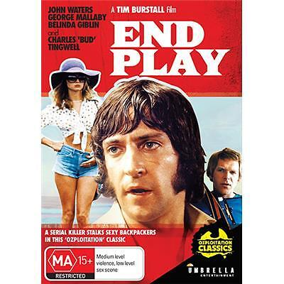 End Play  ( John Waters ) Region 4 DVD   AUSTRALIAN MOVIE NEW AND SEALED