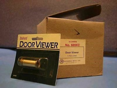 Brainerd Brass Door Viewer New Individually Retail Packaged 669XC Qty 1