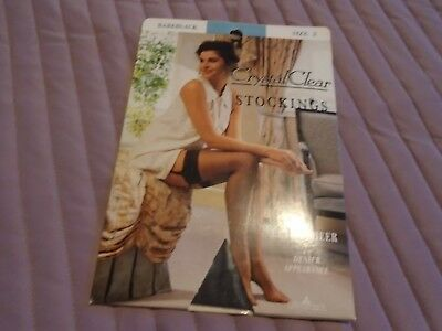 Little woods vintage 1993 crystal clear ultra sheer stockings
