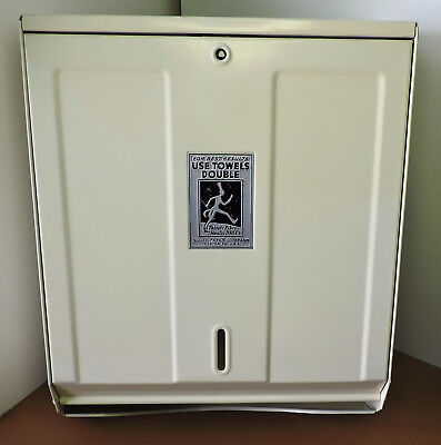 "Vintage Scott ""Scottissue No. 5"" Paper Towel Dispenser - Gas Station - Oil"