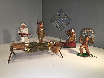 Collection of 5 Barclay Soldiers Auction #4