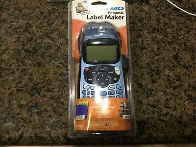 DYMO LetraTag Personal Label Maker LT-100H blue Brand New