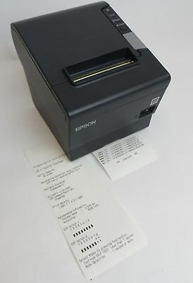 Epson M244A TM-T88V USB / Parallel Thermal POS Receipt Printer TESTED & WORKING