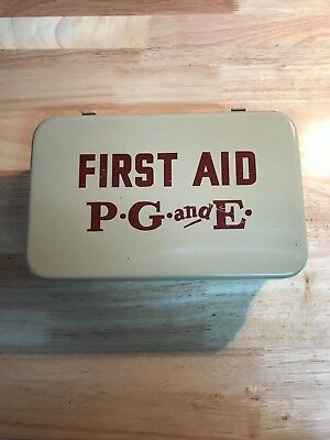 PG&E Pacific Gas and Electric First Aid Kit