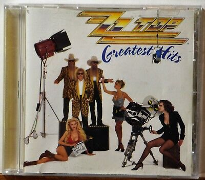 CD ZZ Top Greatest Hits Tush Tube Snake Boogie Legs CLEAN DISC Extras Ship Free