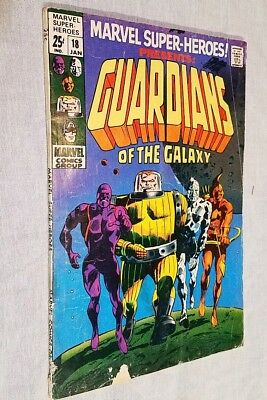 Marvel Super-Heroes #18 1st Guardians of The Galaxy